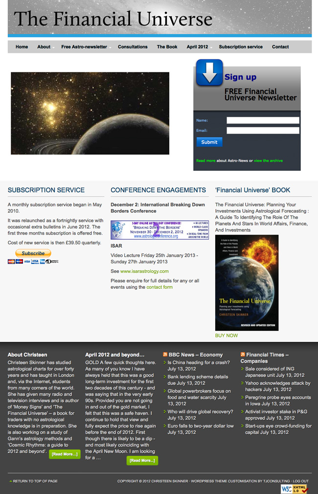 The Financial Universe - Version 2